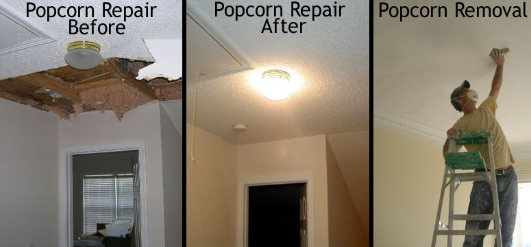Awesome Ceiling Repair Ceiling Repair After Popcorn Removal Download Free Architecture Designs Xerocsunscenecom